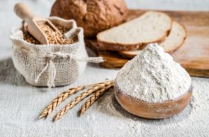 Weizen Brot und Mehl