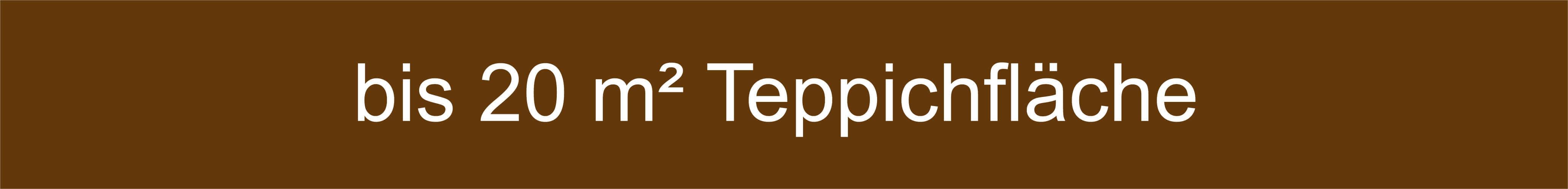 Mengenempfehlung Teppiche bis 20 Quadratmeter