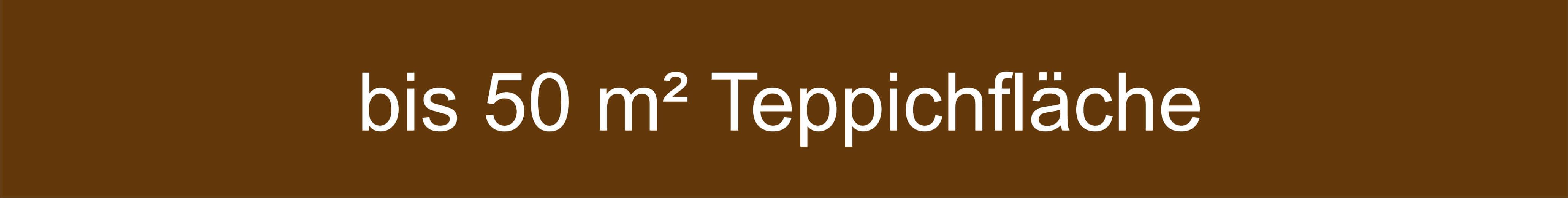 Mengenempfehlung Teppiche bis 50 Quadratmeter